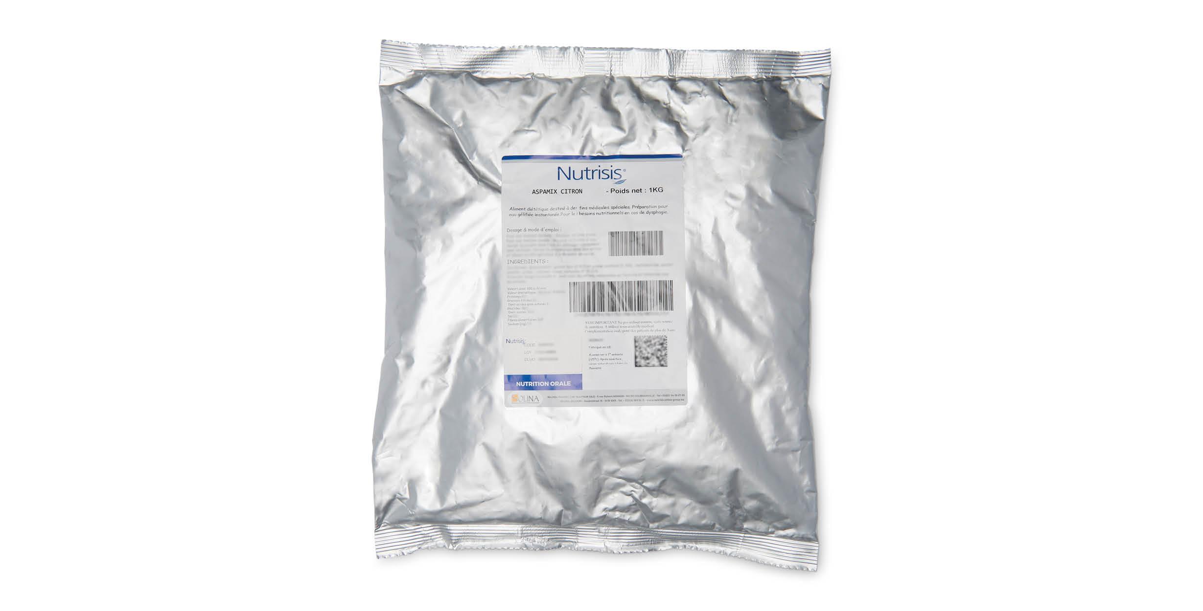 Aspamix citron (poche 1kg)