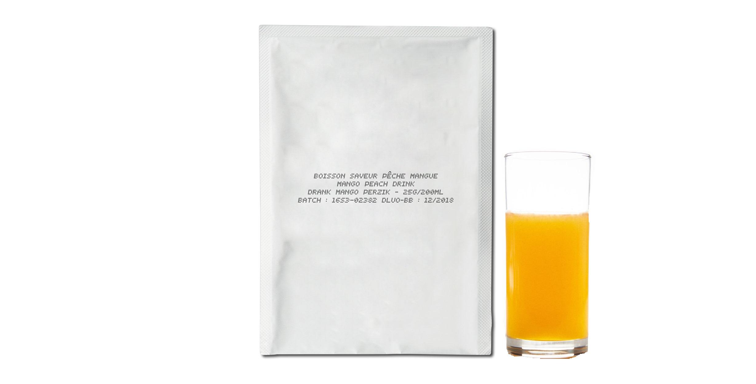 ProtiDrink Boisson Fruitée HP Pêche Mangue (dose 25g)